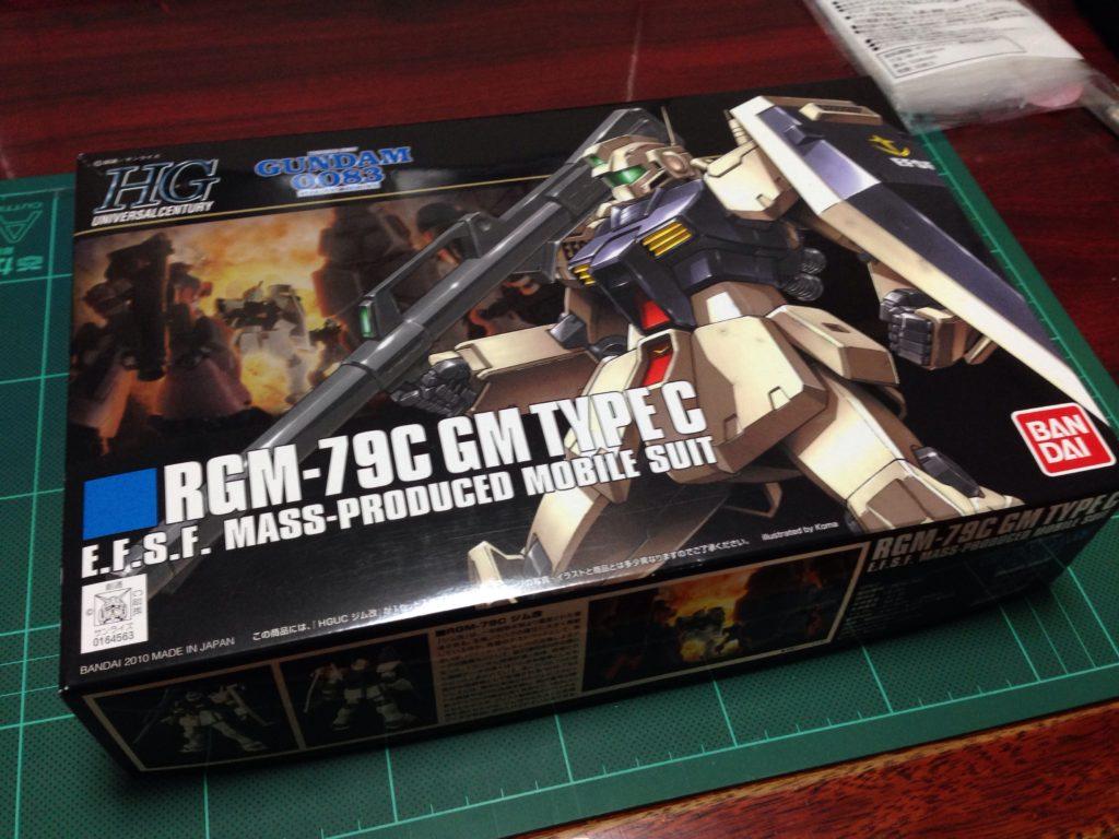 HGUC 1/144 RGM-79C ジム改 パッケージ