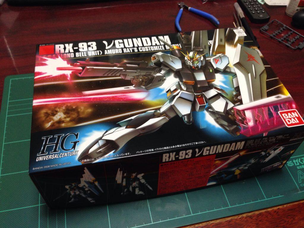 HGUC 1/144 RX-93 νガンダム [ν Gundam](ニューガンダム) パッケージ