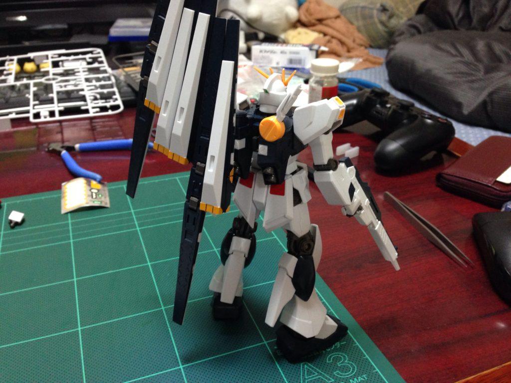 HGUC 1/144 RX-93 νガンダム [ν Gundam](ニューガンダム) 背面