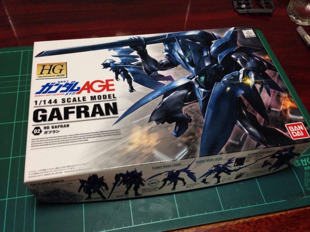 HG 1/144 ovv-f ガフラン [Gafran] パッケージ