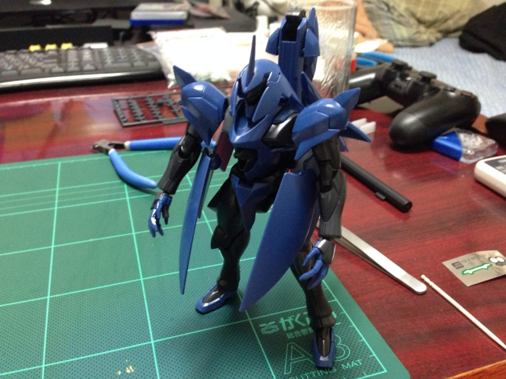 HG 1/144 ovv-f ガフラン 正面