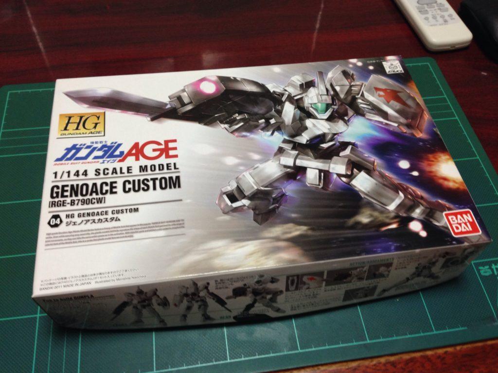 HG 1/144 RGE-B790CW ジェノアスカスタム [Genoace Custom] パッケージ