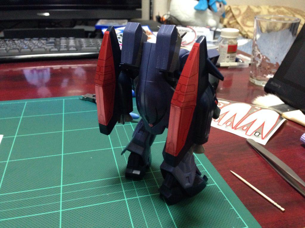 1/144 NRX-0015 ガンダムアシュタロン [Gundam Ashtaron] 背面