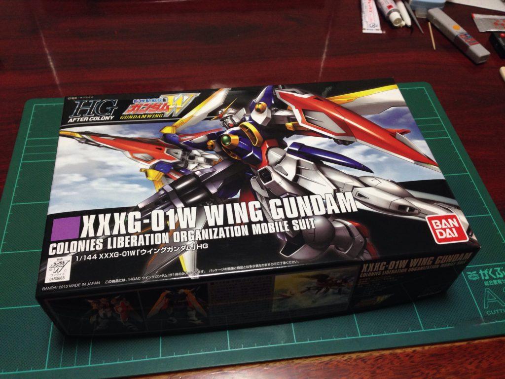 HGAC 1/144 XXXG-01W ウイングガンダム [Wing Gundam] パッケージ