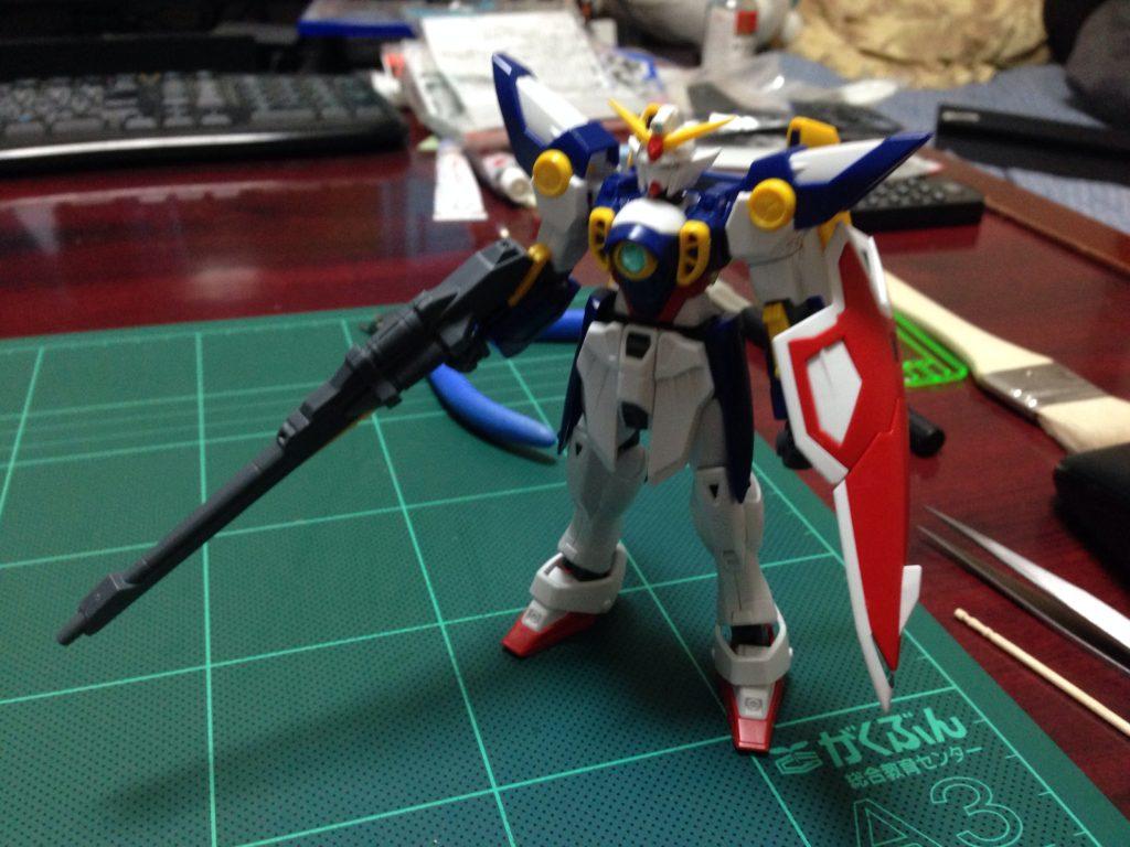 HGAC 1/144 XXXG-01W ウイングガンダム [Wing Gundam] 正面