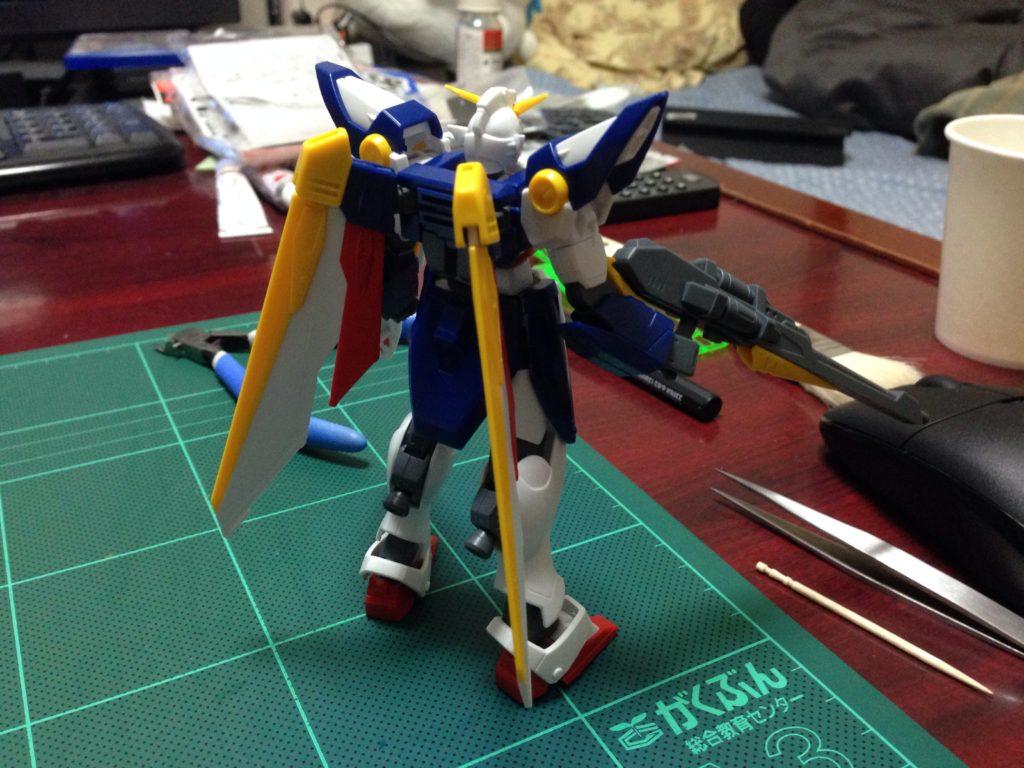 HGAC 1/144 XXXG-01W ウイングガンダム [Wing Gundam] 背面
