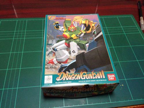 旧キット 1/144 GF13-011NC ドラゴンガンダム [Dragon Gundam]