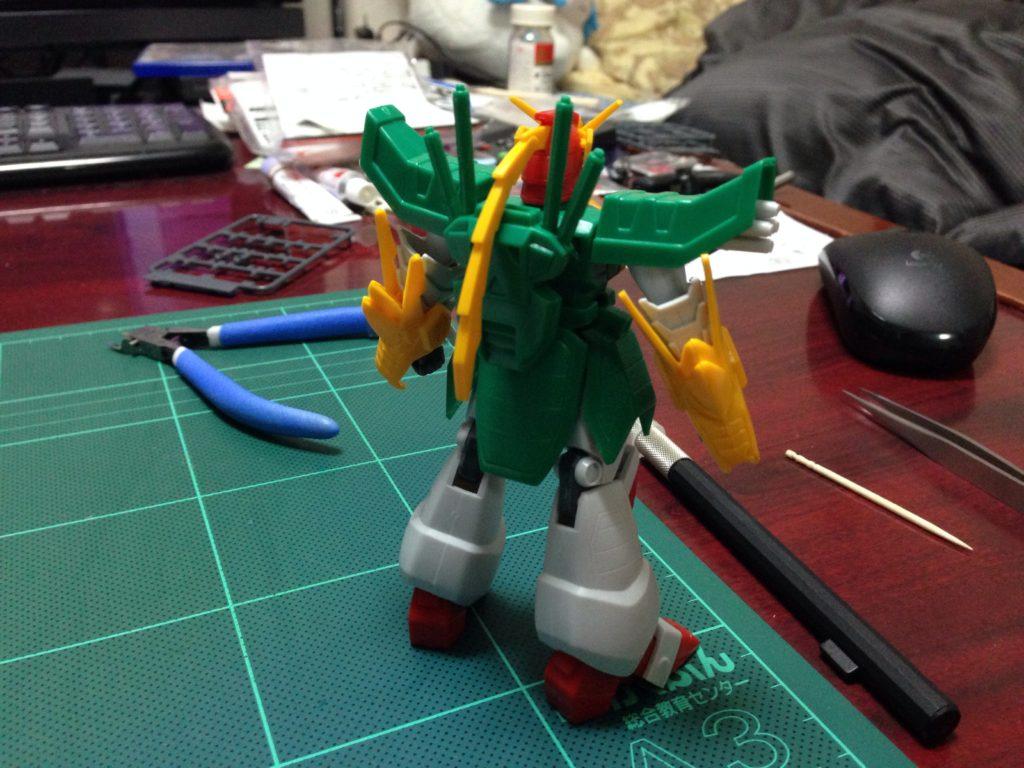 1/144 GF13-011NC ドラゴンガンダム 背面