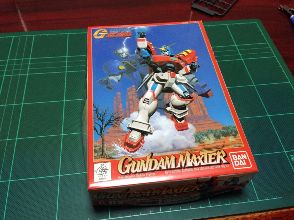 1/144 GF13-006NA ガンダムマックスター [Gundam Maxter] パッケージ