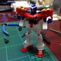 旧キット 1/144 GF13-006NA ガンダムマックスター [Gundam Maxter]
