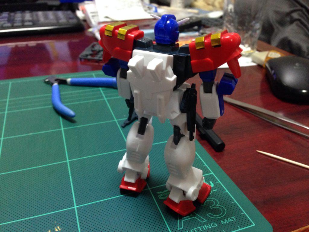 1/144 GF13-006NA ガンダムマックスター [Gundam Maxter] 背面