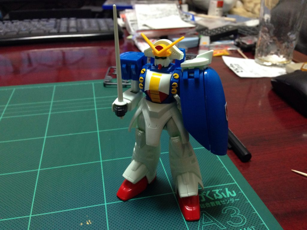 1/144 GF13-009NF ガンダムローズ [Gundam Rose] 正面