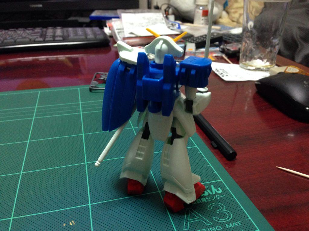 1/144 GF13-009NF ガンダムローズ [Gundam Rose] 背面