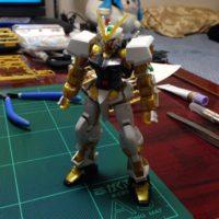 HGCE 1/144 MBF-P01 ガンダムアストレイ ゴールドフレーム [Gundam Astray Gold Frame]
