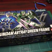 HG 1/144 MBF-P04 ガンダムアストレイ グリーンフレーム(トロヤ・ノワレ専用機) [Astray Green Frame]