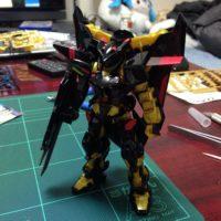 HGCE 1/144 MBF-P01-Re ガンダムアストレイ ゴールドフレーム天(アマツ) [Gundam Astray Gold Frame Amatsu] 4543112844170