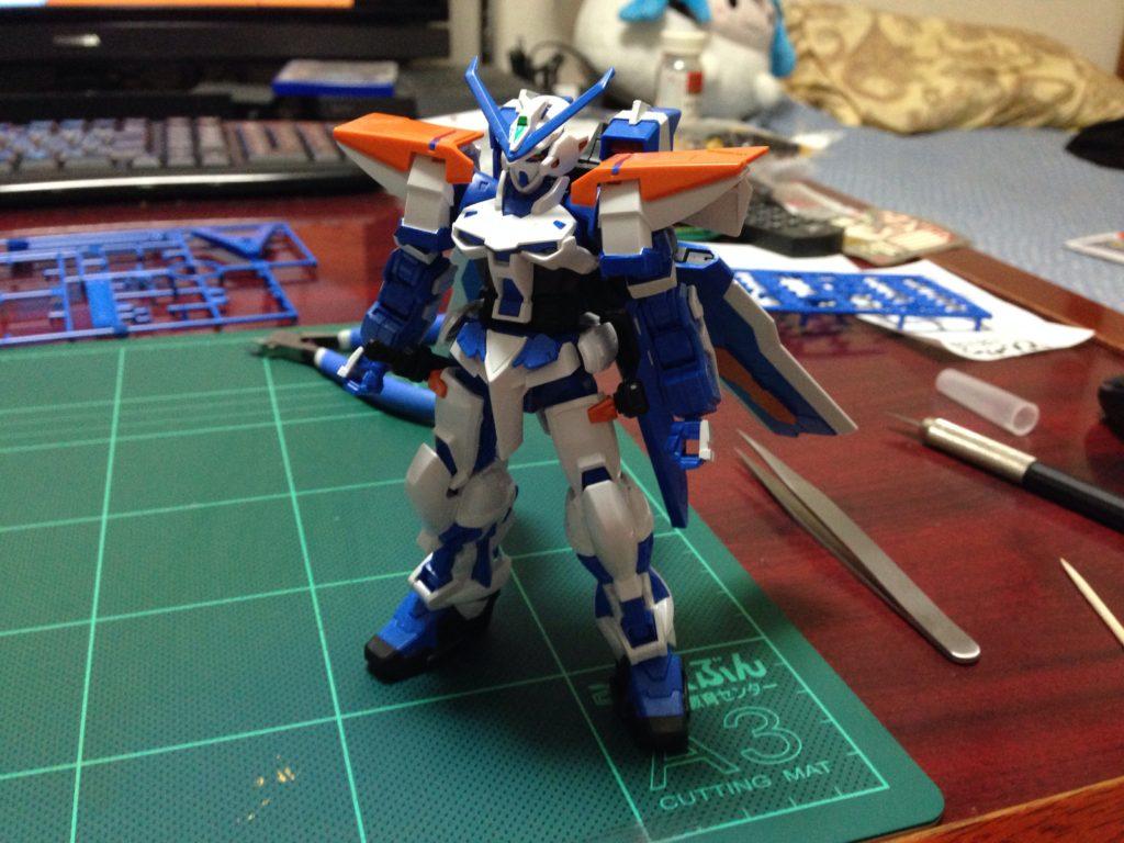 HGCE 1/144 MBF-P03R ガンダムアストレイ ブルーフレーム セカンドL [Gundam Astray Blue Frame Second L] 正面