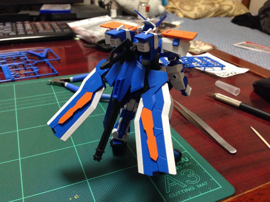 HGCE 1/144 MBF-P03R ガンダムアストレイ ブルーフレーム セカンドL [Gundam Astray Blue Frame Second L] 背面