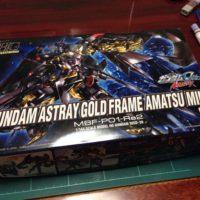 HGCE 1/144 MBF-P01-Re2 ガンダムアストレイ ゴールドフレームアマツミナ [Gundam Astray Gold Frame Amatsu Mina] 5057591 0183660