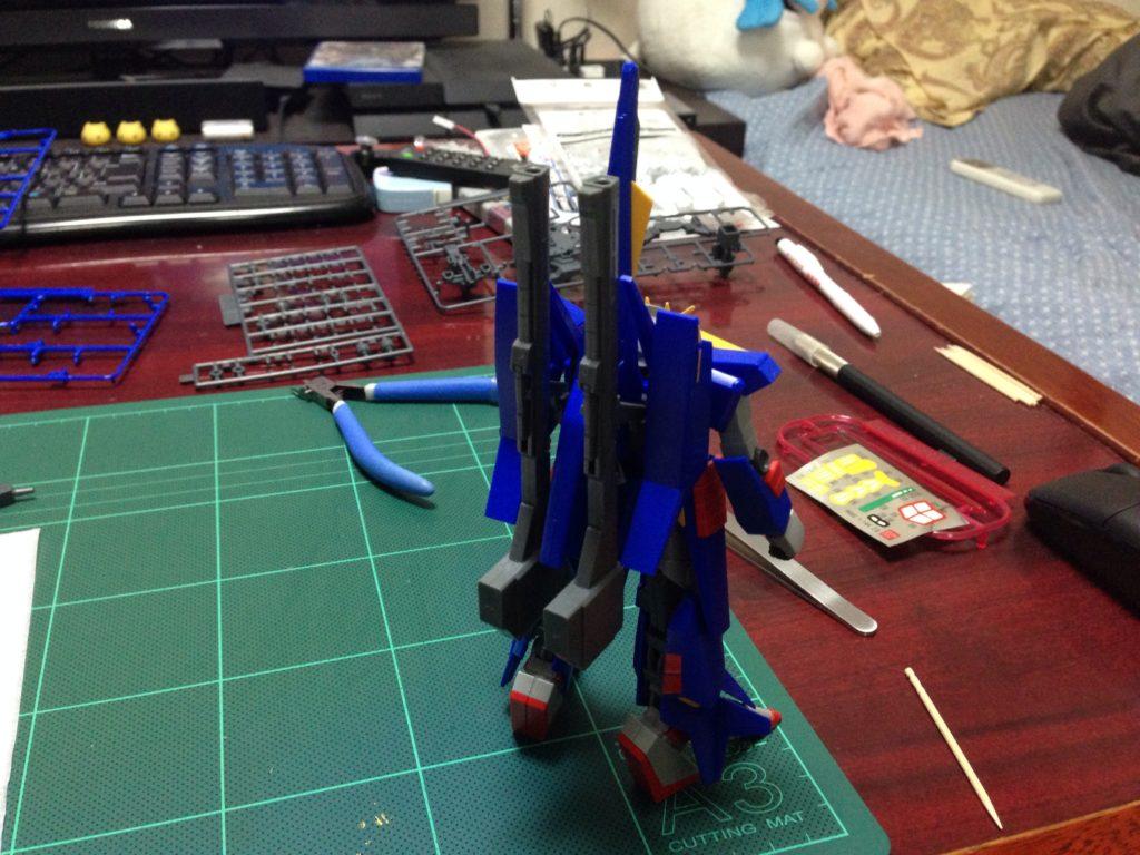 HGUC 1/144 MSZ-008 ZII (ゼッツー) 背面