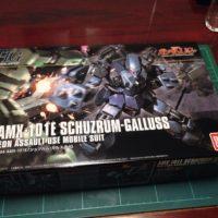 HGUC 1/144 AMX-101E シュツルム・ガルス [Schuzrum-Galluss]