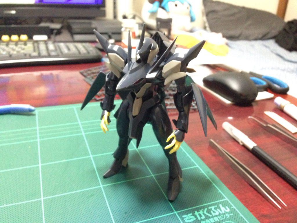 HG 1/144 xvv-xc ゼダス [Zedas] 正面