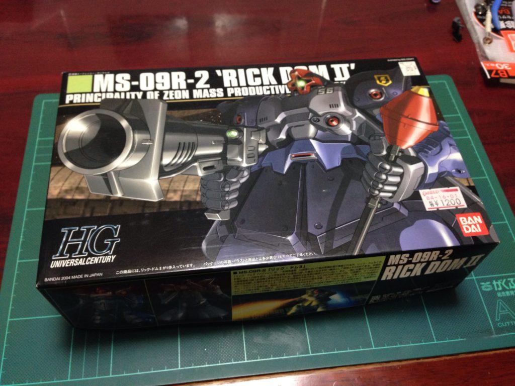 HGUC 1/144 MS-09R-2 リック・ドムII パッケージ