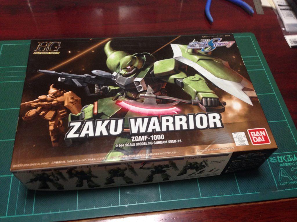 HG 1/144 ZGMF-1000 ザクウォーリア [ZAKU Warrior] パッケージ