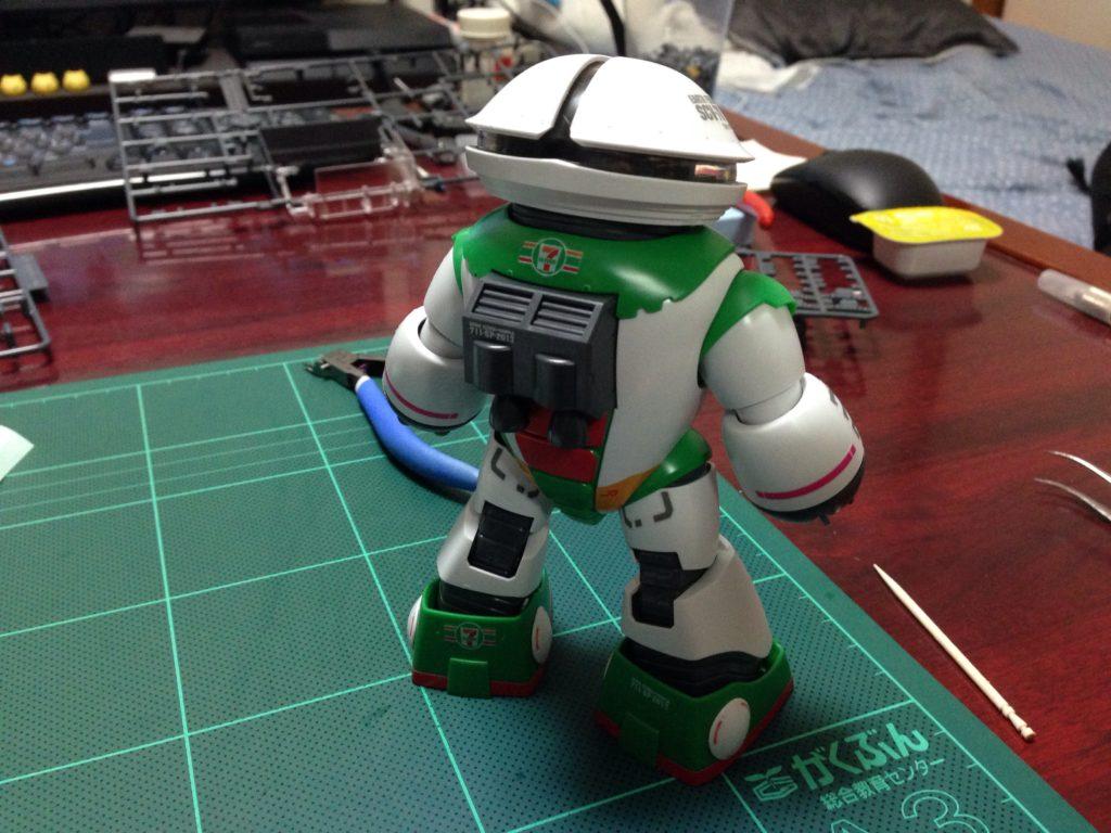 HGUC 1/144 MSM-04 アッガイ Ver.GFT セブン-イレブン カラー 背面