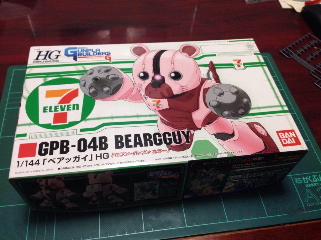 HG 1/144 ベアッガイ セブン-イレブン カラー パッケージ