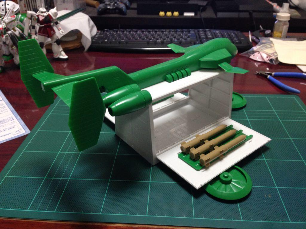 EXモデル 1/144 ガンペリー セブン-イレブンカラー 背面