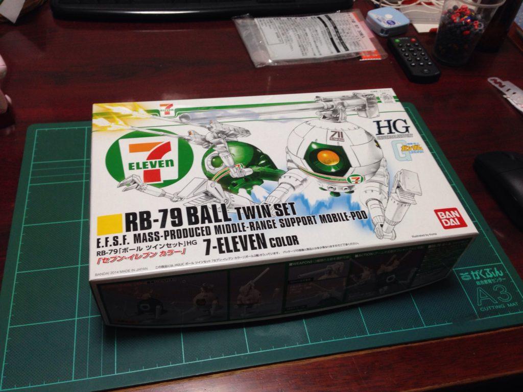 HGUC 1/144 RB-79 ボール ツインセット セブン-イレブン カラー パッケージ