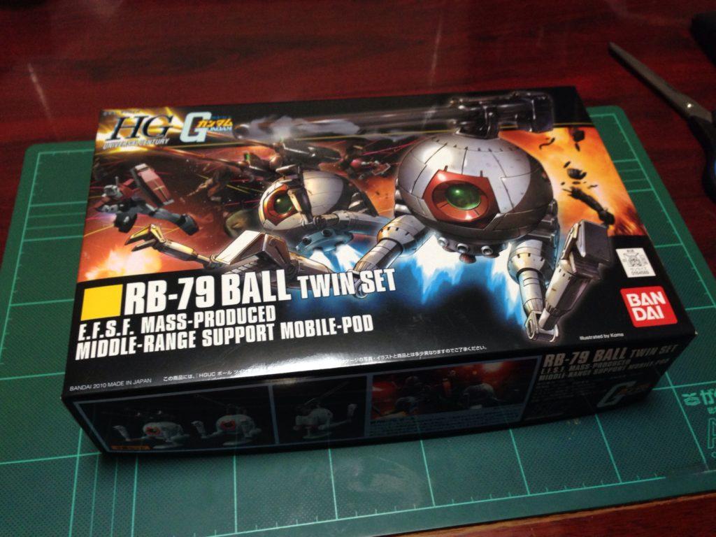HGUC 1/144 RB-79 ボール ツインセット [Ball Twin Set] パッケージ