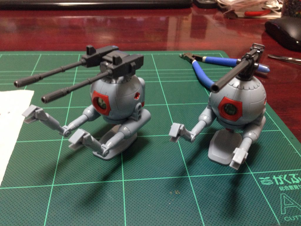 HGUC 1/144 RB-79 ボール ツインセット [Ball Twin Set] 正面