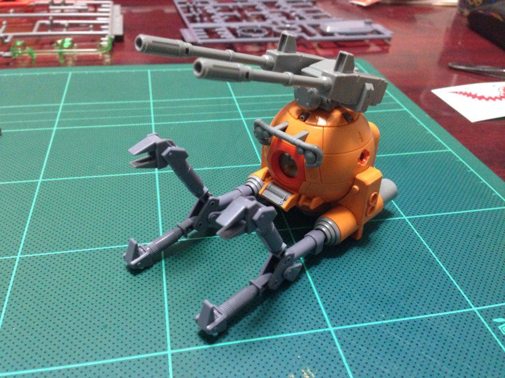 HGUC 1/144 ボールK型(第08MS小隊版)&ボール(シャークマウス仕様) 正面