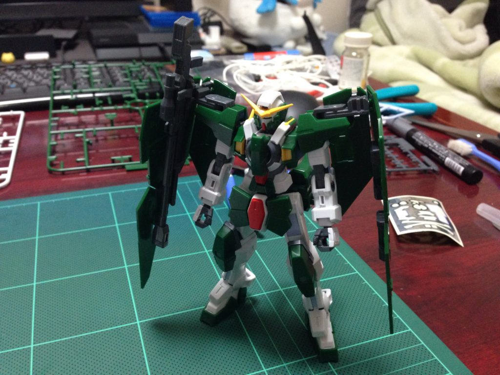 HG 1/144 GN-002 ガンダムデュナメス [Gundam Dynames] 正面