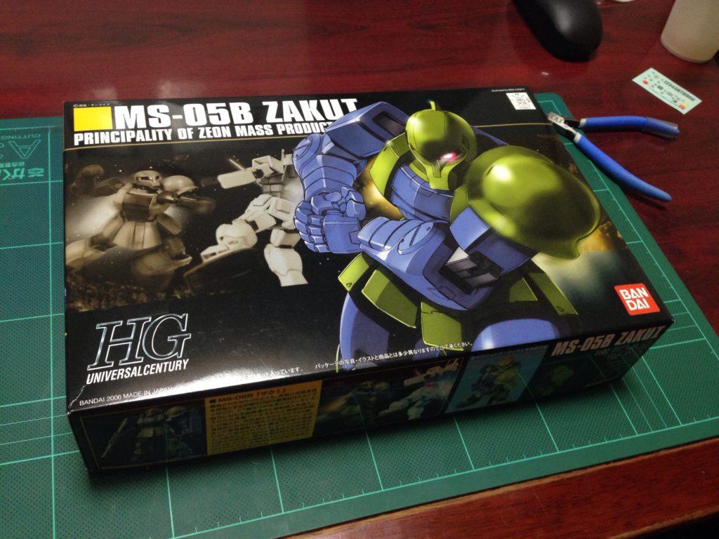 HGUC 1/144 MS-05B ザクI [Zaku I] パッケージ
