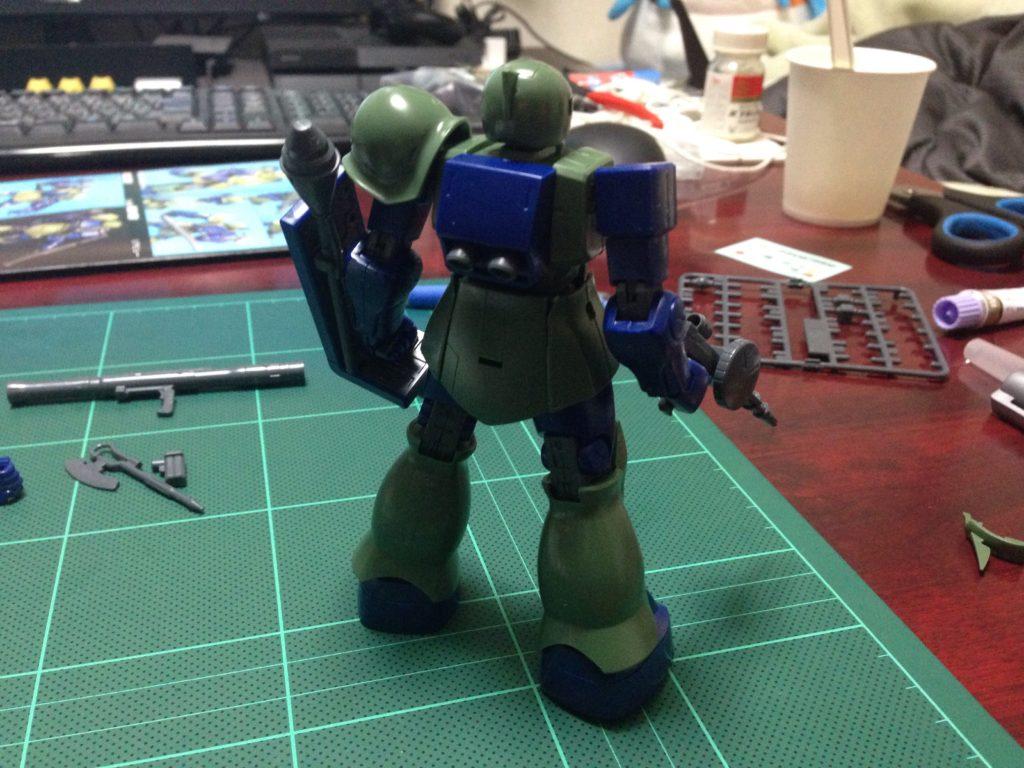 HGUC 1/144 MS-05B ザクI [Zaku I] 背面