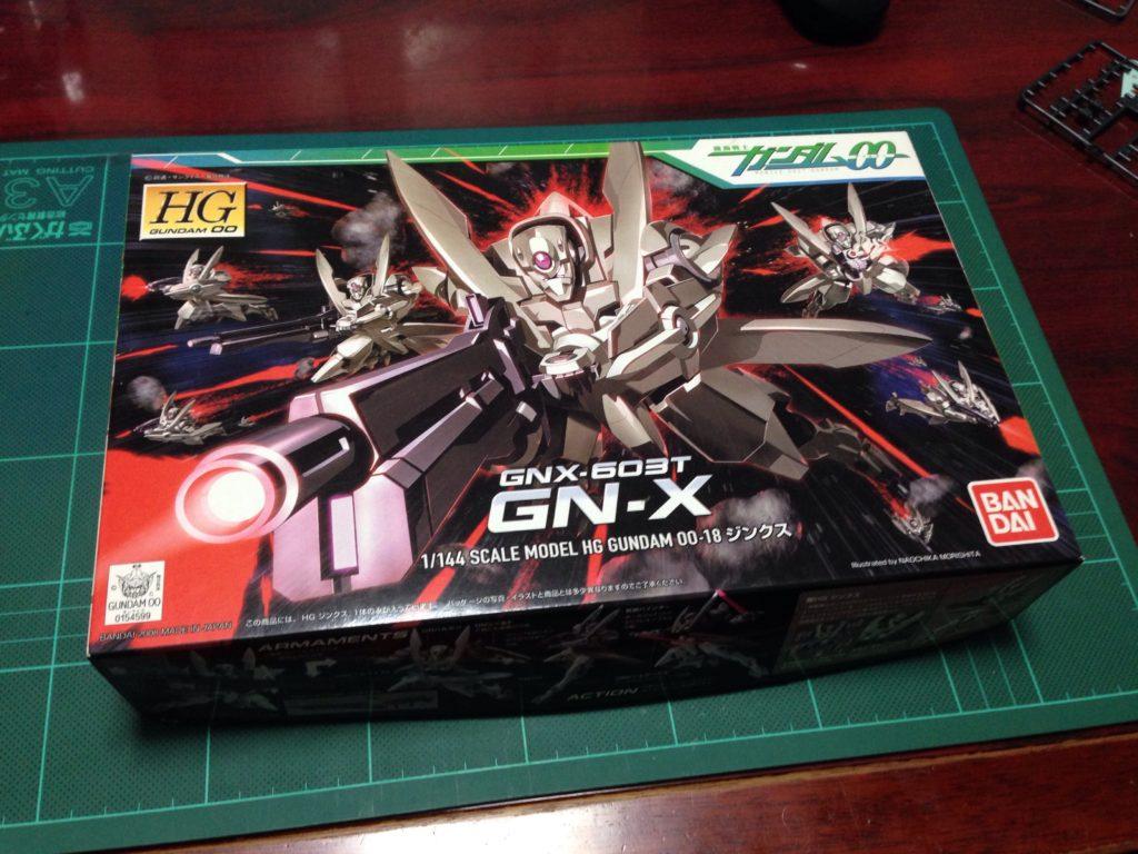 HG 1/144 GNX-603T ジンクス [GN-X] パッケージ
