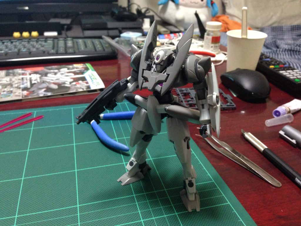 HG 1/144 GNX-603T ジンクス [GN-X] 正面