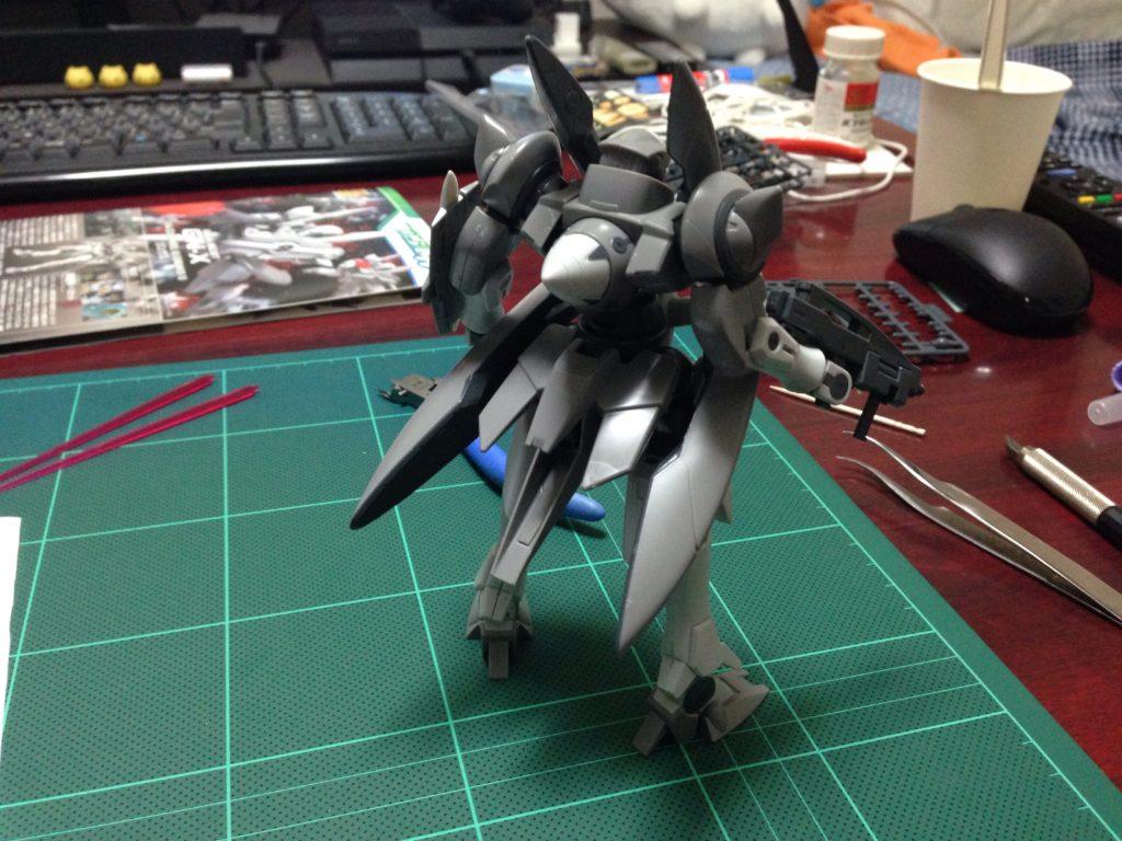HG 1/144 GNX-603T ジンクス [GN-X] 背面