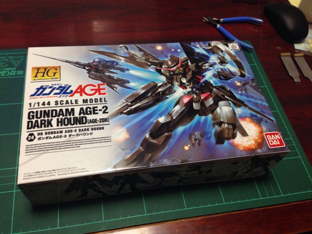 HG 1/144 AGE-2DH ガンダムAGE-2 ダークハウンド [Gundam AGE-2 Dark Hound] JAN:4543112764836 パッケージ