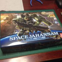 HG 1/144 MSAM-034 宇宙用ジャハナム(量産機) [Jahannam Space Type]