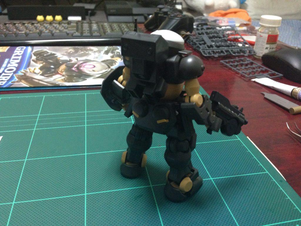 HG 1/144 GH-001 グリモア [Grimoire] 背面