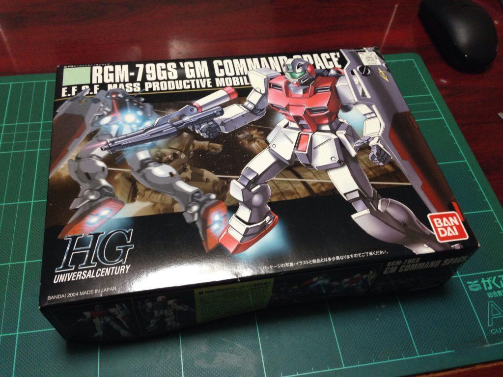 HGUC 1/144 RGM-79GS ジムコマンド(宇宙仕様) パッケージ