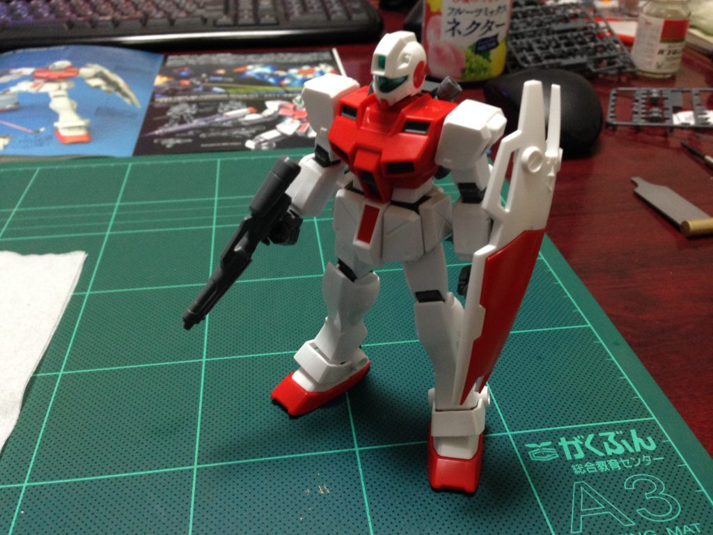 HGUC 1/144 RGM-79GS ジムコマンド(宇宙仕様) [GM Command Space] 正面