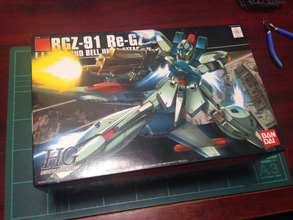 HGUC 1/144 RGZ-91 リ・ガズィ [Re-GZ] パッケージ