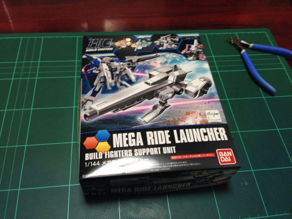 HGBC 1/144 メガライドランチャー [Mega Ride Launcher] パッケージ