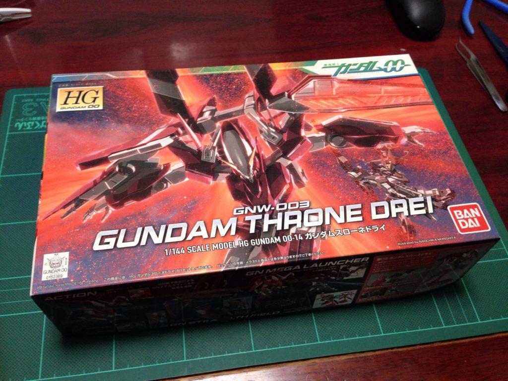HG 1/144 GNW-003 ガンダムスローネドライ パッケージ