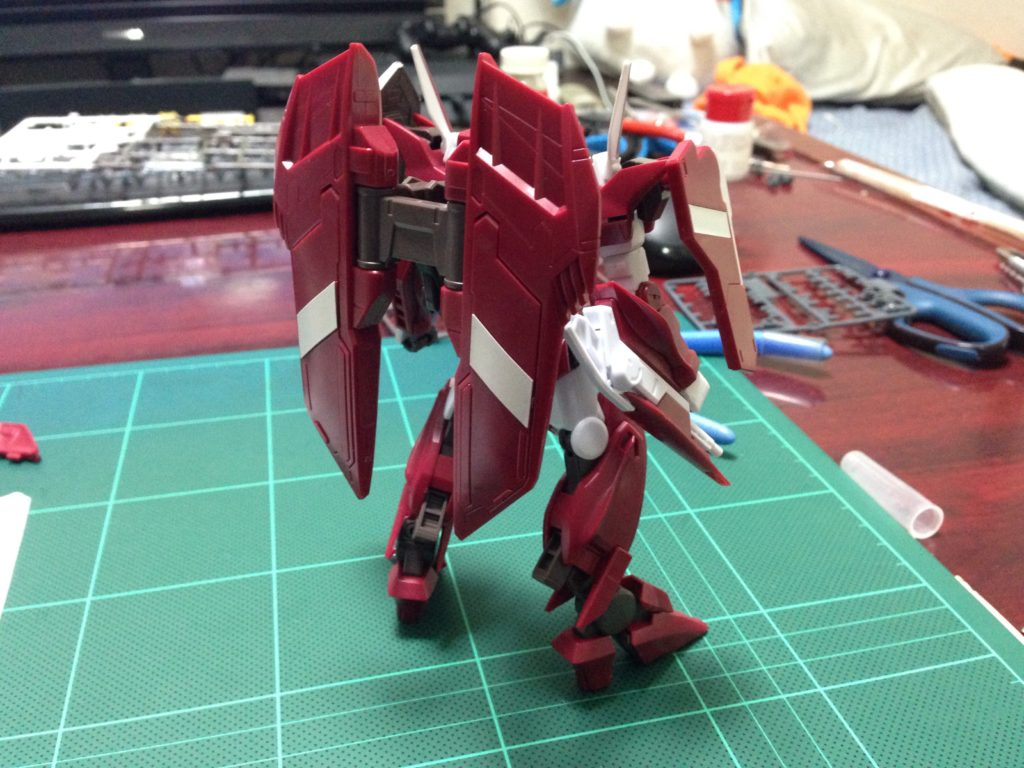 HG 1/144 GNW-003 ガンダムスローネドライ 背面